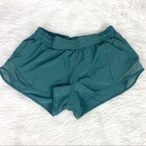 "Lululemon Hotty Hot Shorts 2.5"" Dark Forest"